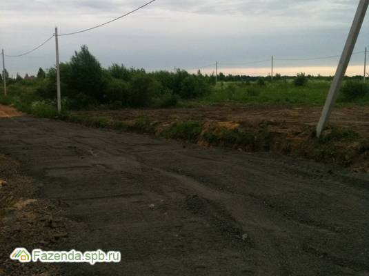Коттеджный поселок  Солнечное, Тосненский район.