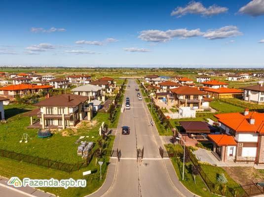 Коттеджный поселок  Онегин Парк, Тосненский район.