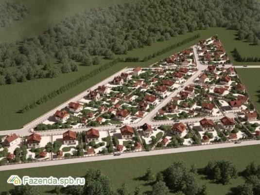 Коттеджный поселок  Золотой треугольник, Ломоносовский район.