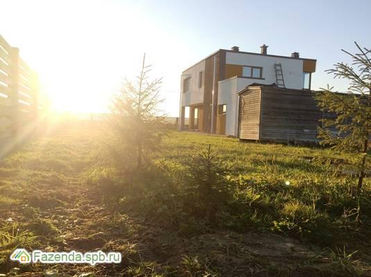 Коттеджный поселок  Лазурное, Тосненский район.
