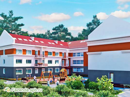 Малоэтажный жилой комплекс Тихий город, Всеволожский район. Актуальное фото.