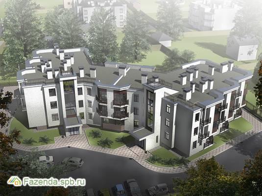 Малоэтажный жилой комплекс Вахрушева, Всеволожский район. Актуальное фото.