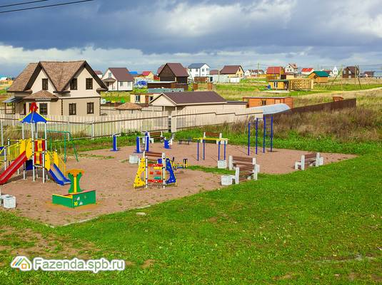 Коттеджный поселок  Брусничное, Ломоносовский район.