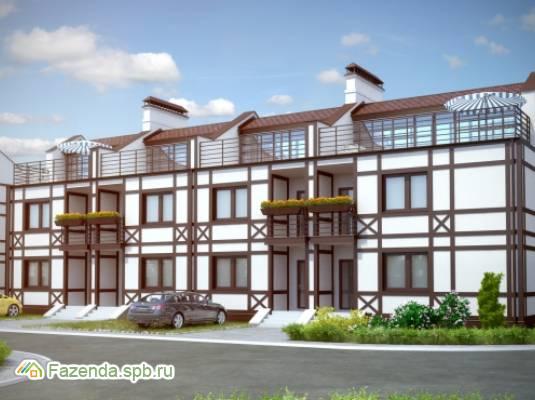 Малоэтажный жилой комплекс Альпийская деревня, Всеволожский район.