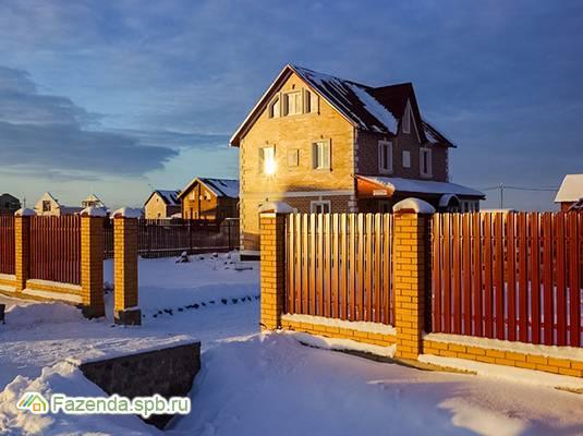 Коттеджный поселок  Малиновые вечера. Комфорт, Ломоносовский район. Актуальное фото.