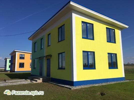 Малоэтажный жилой комплекс Сиверский, Гатчинский район.