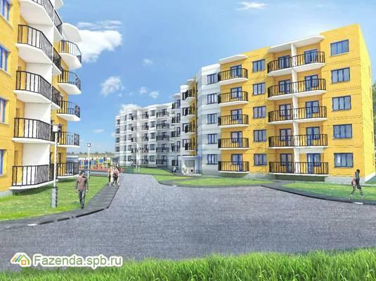 Малоэтажный жилой комплекс ПОБЕДА-Юг, Ломоносовский район.