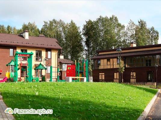 Малоэтажный жилой комплекс Aurinko Бор, Всеволожский район. Актуальное фото.