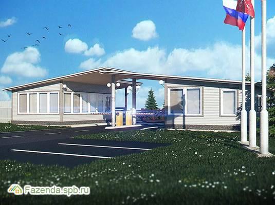 Коттеджный поселок  Графская Славянка, Гатчинский район. Актуальное фото.