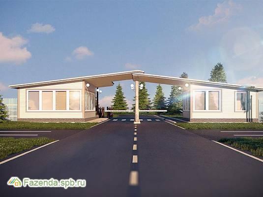 Коттеджный поселок  Графская Славянка, Гатчинский район.