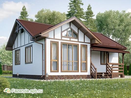Коттеджный поселок  ECOLIFE, Чудовский район (Новгородская область). Актуальное фото.