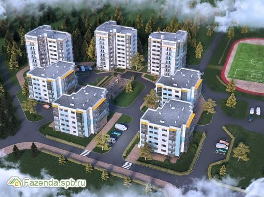 Жилой комплекс 84 Высота, Всеволожский район. Актуальное фото.