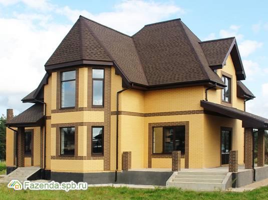 Коттеджный поселок  Петровское Барокко, Всеволожский район. Актуальное фото.