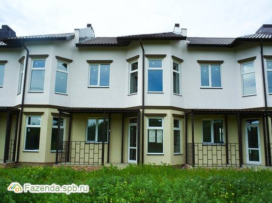 Малоэтажный жилой комплекс Солнечный остров, Ломоносовский район.