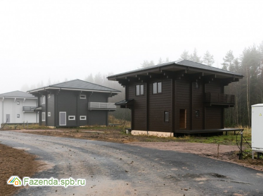 Коттеджный поселок  Polianka, Выборгский район. Актуальное фото.