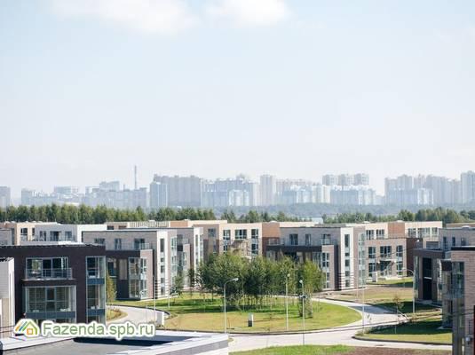 Малоэтажный жилой комплекс Лахта Парк, Приморский СПб. Актуальное фото.