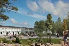 Рядом с Slavyanka Village расположен Малоэтажный жилой комплекс Счастье