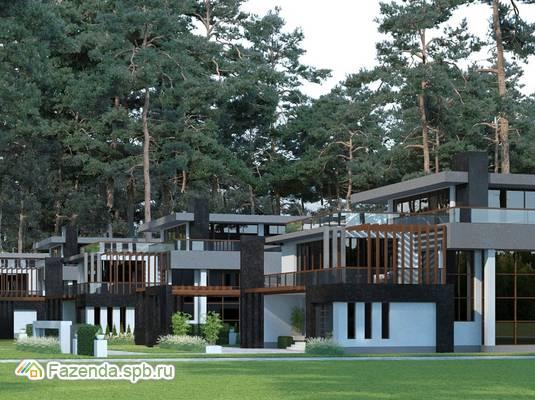 Коттеджный поселок  Охта Spa Residence, Всеволожский район.