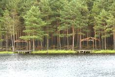 Рядом с Коркинский ручей расположен Коттеджный поселок  Кокосы