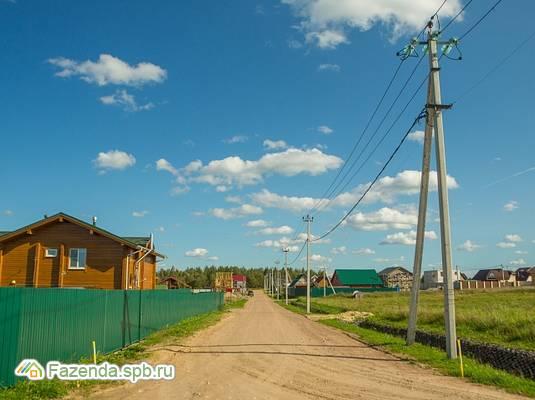 Коттеджный поселок  ПриЛЕСный, Всеволожский район. Актуальное фото.