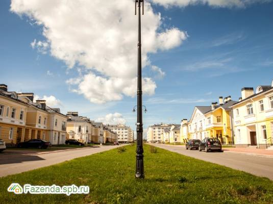 Малоэтажный жилой комплекс Александровский, Пушкинский район.