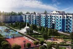 Рядом с Азбука расположен Малоэтажный жилой комплекс Дом с фонтаном