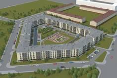Рядом с Пушгород расположен Малоэтажный жилой комплекс ЭкспоГрад