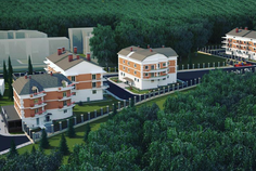 Рядом с Цветы расположен Малоэтажный жилой комплекс Агалатово