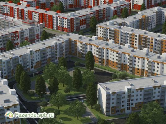 Малоэтажный жилой комплекс Новый Петергоф, Петродворцовый СПб.