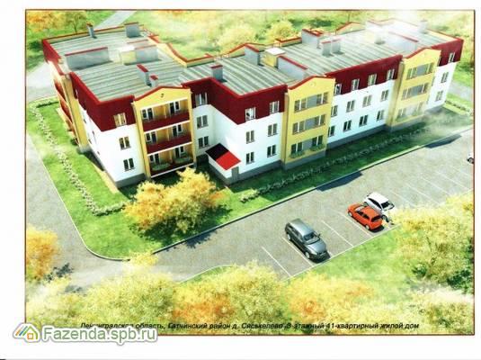 Малоэтажный жилой комплекс в д. Сяськелево, Гатчинский район.