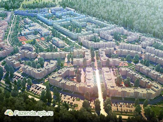 Малоэтажный жилой комплекс Новое Сертолово, Всеволожский район. Актуальное фото.