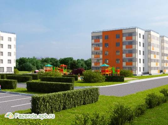 Малоэтажный жилой комплекс Мандарин, Ломоносовский район. Актуальное фото.