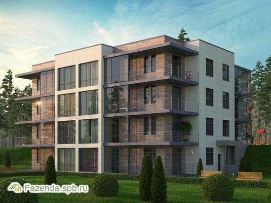 Малоэтажный жилой комплекс ГОРКИ ПАРК, Всеволожский район.