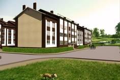 Рядом с Ассорти расположен Малоэтажный жилой комплекс Шведские пруды