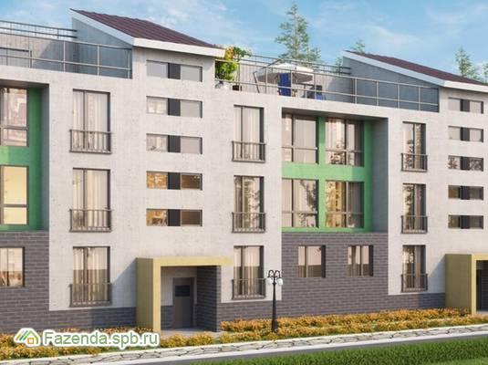Малоэтажный жилой комплекс Близкое, Всеволожский район. Актуальное фото.