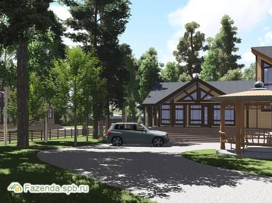 Коттеджный поселок  Волшебное озеро, Всеволожский район.