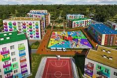 Рядом с Графская слобода расположен Малоэтажный жилой комплекс Город Детства