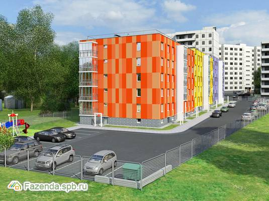 Жилой комплекс Оазис в Буграх, Всеволожский район. Актуальное фото.