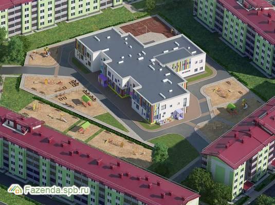 Малоэтажный жилой комплекс Образцовый квартал 2, Пушкинский район.