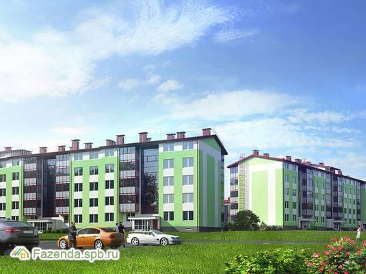 Малоэтажный жилой комплекс Образцовый квартал 2, Пушкинский район. Актуальное фото.