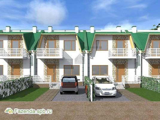 Малоэтажный жилой комплекс Есенин Village, Тосненский район.