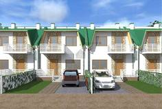 Рядом с Лазурное расположен Малоэтажный жилой комплекс Есенин Village