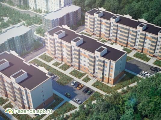 Малоэтажный жилой комплекс Графская слобода, Гатчинский район. Актуальное фото.