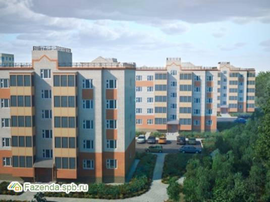 Малоэтажный жилой комплекс Графская слобода, Гатчинский район.