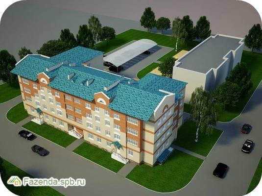 Малоэтажный жилой комплекс Знаменский, Тихвинский район.