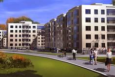 Рядом с Ольгинские просторы расположен Малоэтажный жилой комплекс Петергоф Парк