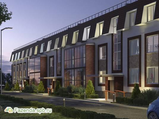 Малоэтажный жилой комплекс Ижора сити, Тосненский район. Актуальное фото.