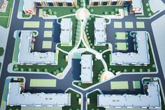 Рядом с Охта-Йоки II расположен Малоэтажный жилой комплекс Цветы