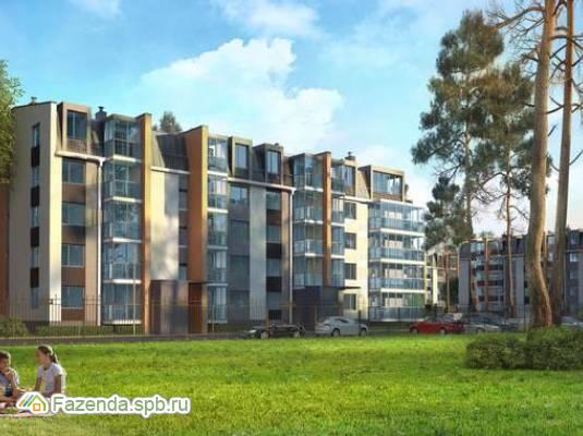 Малоэтажный жилой комплекс INKERI, Пушкинский район. Актуальное фото.