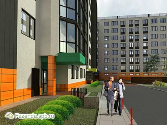 Малоэтажный жилой комплекс O'range /Оранж/, Всеволожский район. Актуальное фото.